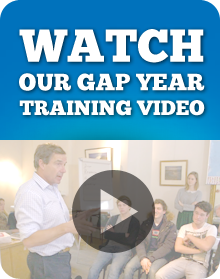 Click here to take a look at our Gap Year Training video